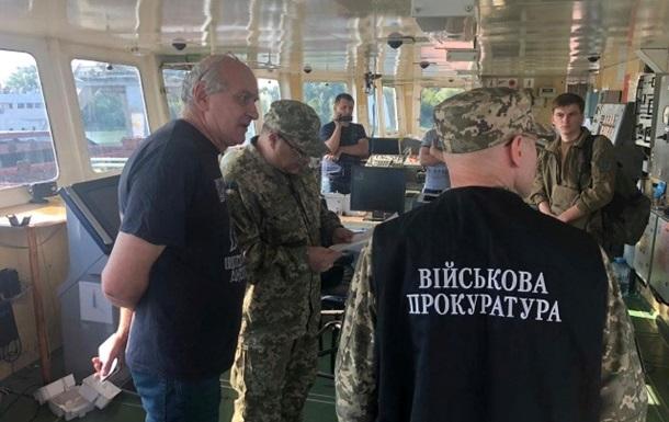 Появилось видео задержания танкера РФ в Измаиле