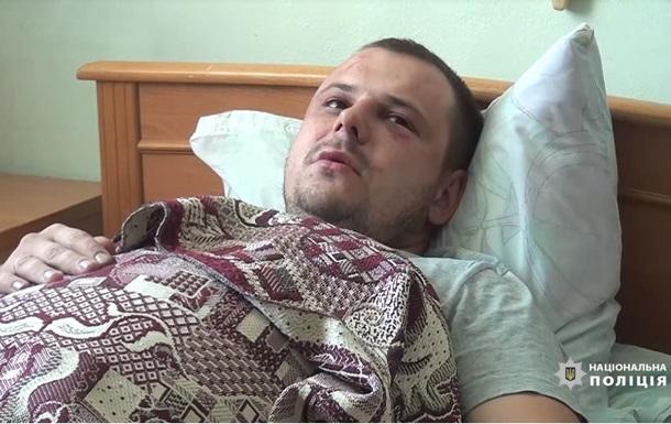 В Киеве хулиганы избили копа и забрали пистолет
