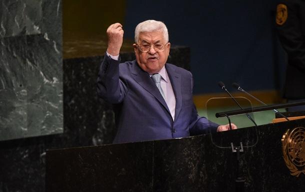 Палестина останавливает соглашения с Израилем
