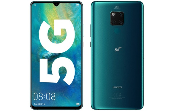 Huawei показала свой первый 5G-смартфон