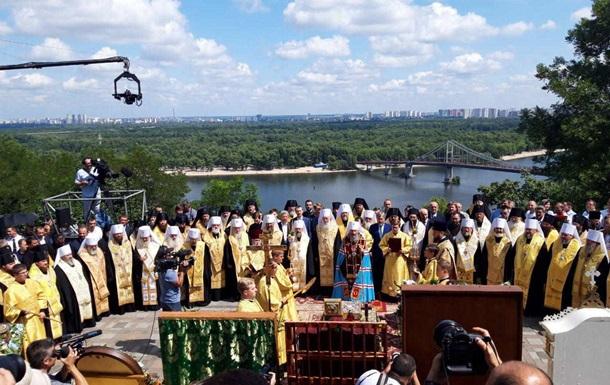День крещения Руси: в Киеве начался молебен