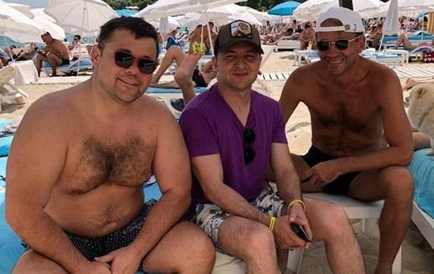 Богдан і Зеленський сходили на пляж в Одесі