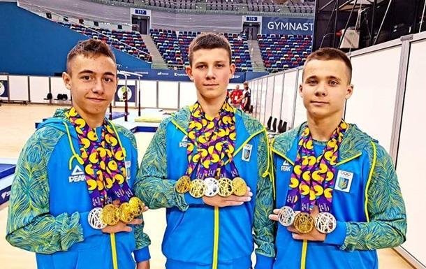 Украина завоевала 25 медалей на Европейском олимпийском фестивале