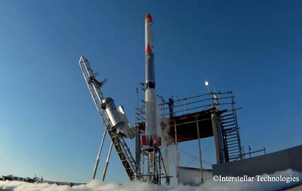 Японская частная ракета упала после запуска
