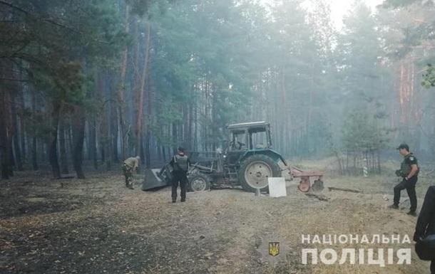 На Донбассе тракторист подорвался на мине
