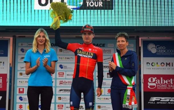 Українець Марк Падун став переможцем престижної велогонки