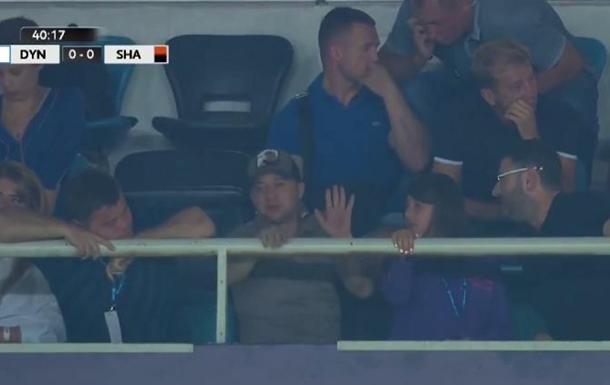Зеленский посетил матч Динамо – Шахтер