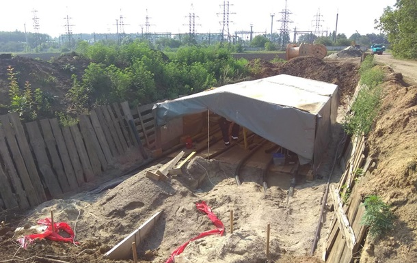 «Розпил» електричної підстанції у Луганській області