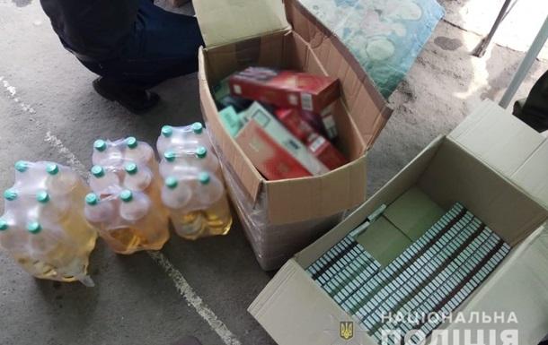 В Одеській області  накрили  склад з контрафактним алкоголем і сигаретами