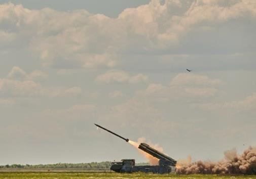Украина провела очередные испытания ракетного комплекса  Ольха-М