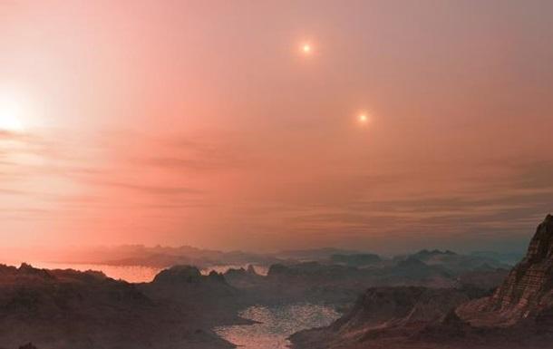 Астрономы обнаружили экзопланету с тремя  солнцами