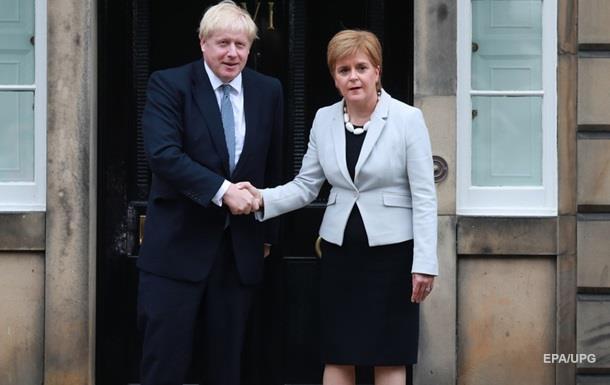 Глава Шотландии опасается плана Джонсона по Brexit