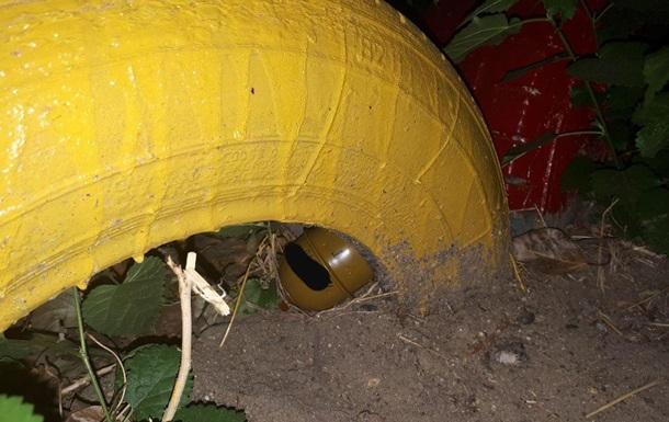 В Николаеве мужчина спрятал гранату на детской площадке