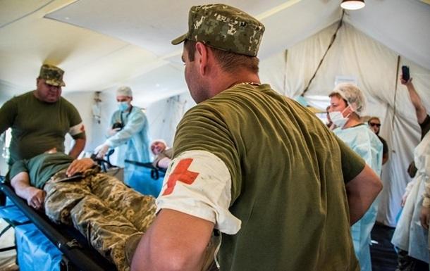 На Донбассе подорвался военный