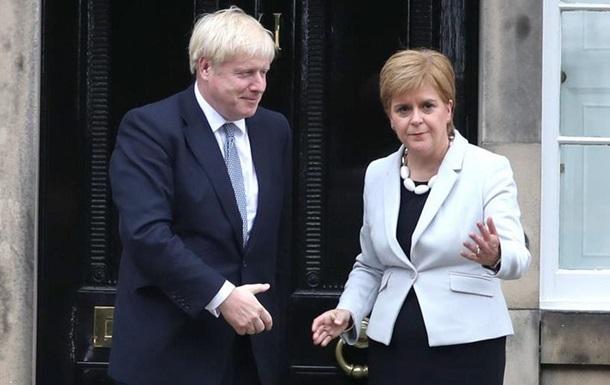 Глава уряду Шотландії: Джонсон прагне Brexit без угоди з ЄС