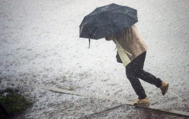 По Києву оголосили штормове попередження