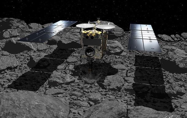 Зонд взяв зразки матерії астероїда Рюгю
