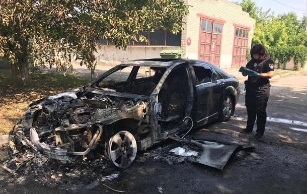 У Херсоні спалили авто чиновника Укртрансбезпеки