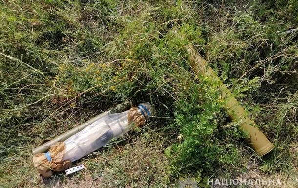 В Днепропетровской области на улице нашли оружие и боеприпасы