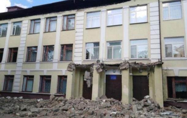 В школе Каменского рухнула крыша