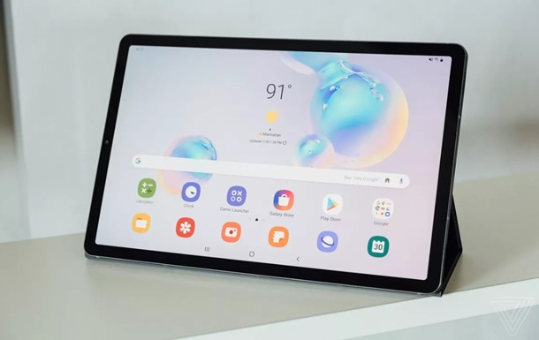 Samsung представила топовый планшет Galaxy Tab S6