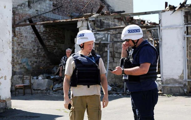 За сутки ОБСЕ зафиксировала 34 взрыва на Донбассе