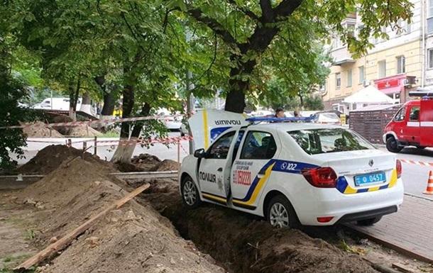 Полицейский умер за рулем авто в Киеве