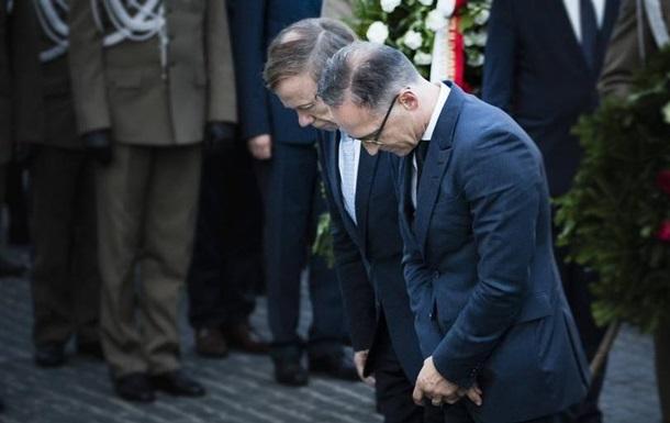 Маас висловив глибокий сором через дії нацистів щодо Польщі