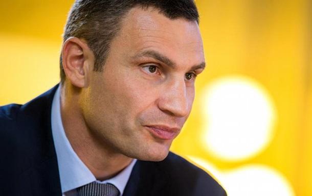 Віталій Кличко заперечує розкрадання землі у Києві