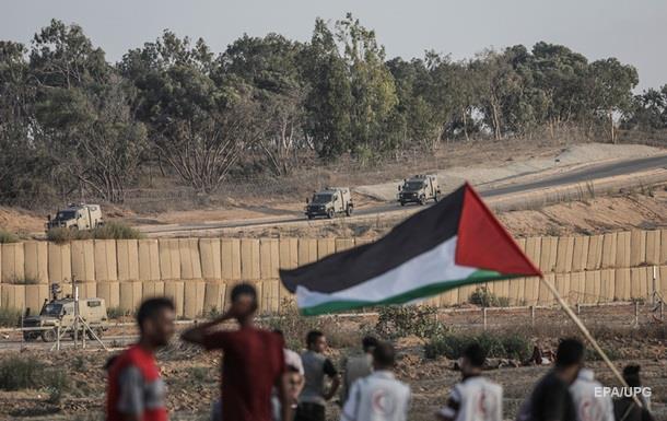 На границе Газы произошли столкновения, десятки пострадавших − СМИ