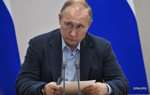 Путин упростил получение вида на жительство для украинцев