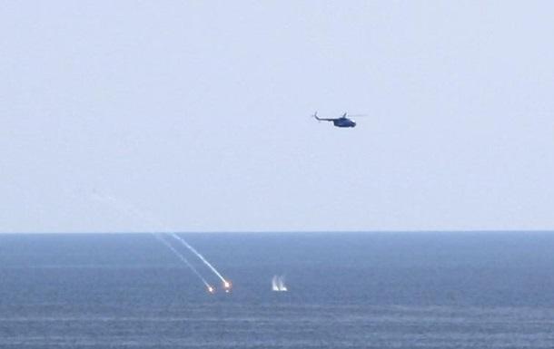 Над Черным морем прошли учения авиации ВМС Украины