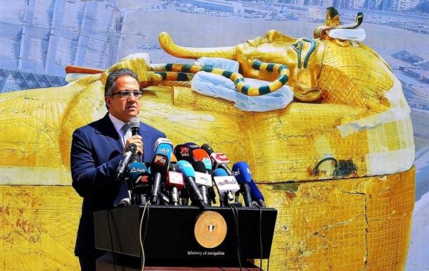 У Єгипті реставрують саркофаг Тутанхамона