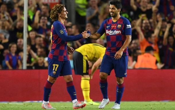 Барселона обыграла Арсенал и завоевала Кубок Гампера