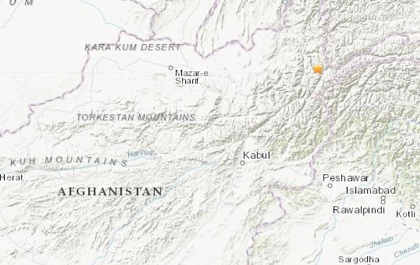 В Афганистане произошло сильное землетрясение