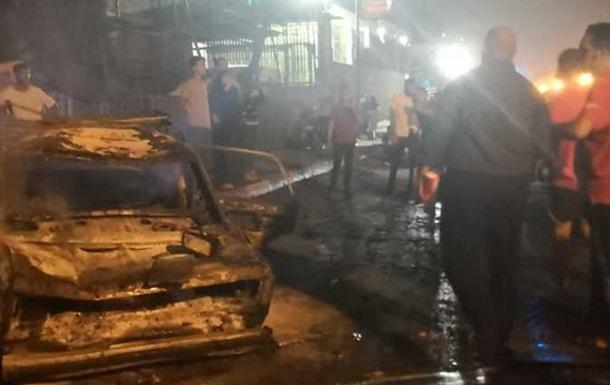 У Каїрі стався вибух під час ДТП, 17 загиблих