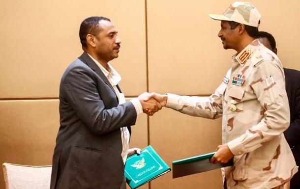Суданські військові та опозиція підписали конституційну декларацію