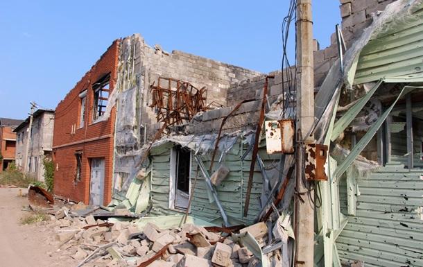 В сети показали развалины Широкино