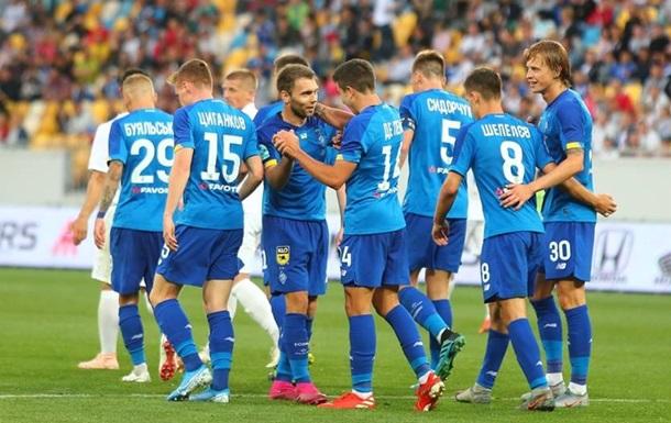 Динамо узнало потенциальных соперников в плей-офф Лиги чемпионов