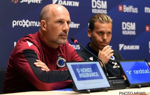 Тренер Брюгге рассказал, как команда планирует играть против Динамо