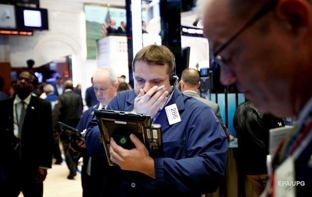 Фондовый рынок США рекордно обвалился