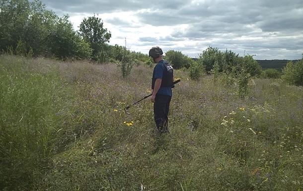 Вокруг моста в Станице Луганской нашли полсотни мин