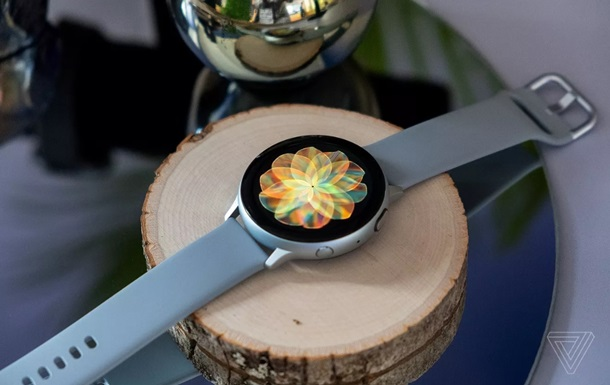 Samsung представила  розумний  Galaxy Watch Active 2
