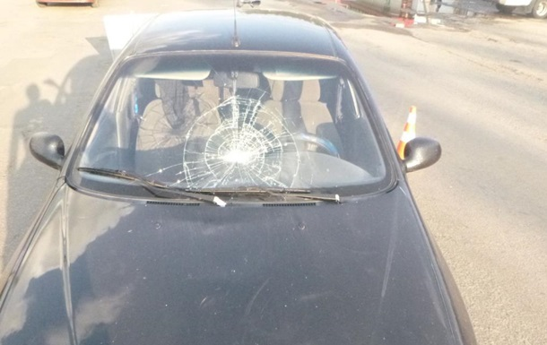 П яний поліцейський збив жінку в Запорізькій області