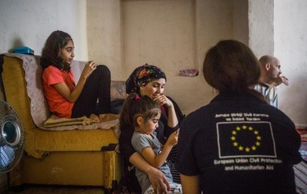 ЄС виділив 127 млн євро для сирійських біженців у Туреччині