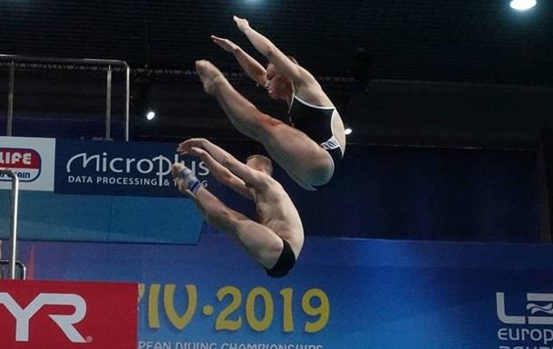 Украинские прыгуны в воду выиграли первое золото домашнего ЧЕ