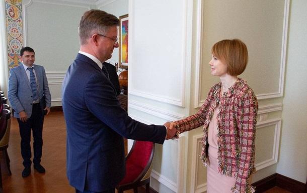 Новый посол Эстонии начал работу в Украине