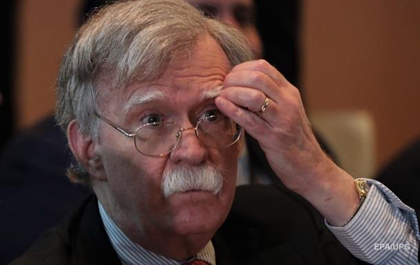 Болтон назвав Китай однією із причин виходу США з ДРСМД