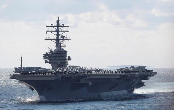 США отправили авианосец в Южно-Китайское море