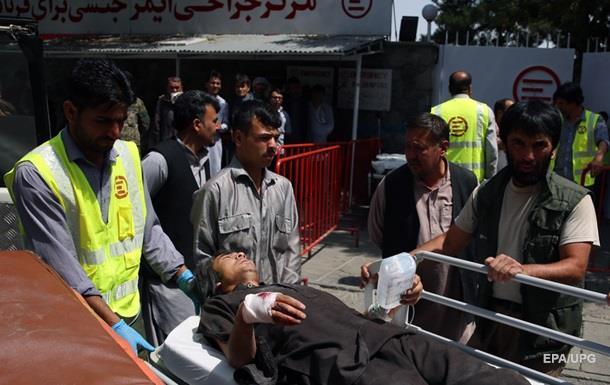 Вибух у Кабулі: 80 постраждалих